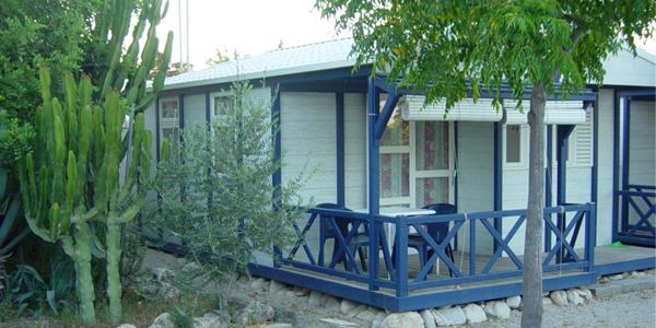 Bungallow en Camping Bon Sol