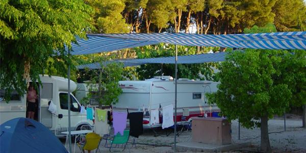 Parcelas en Camping Bon Sol