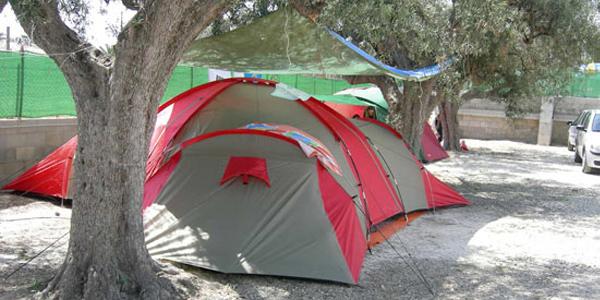 Zona Acampada Camping El Jardín