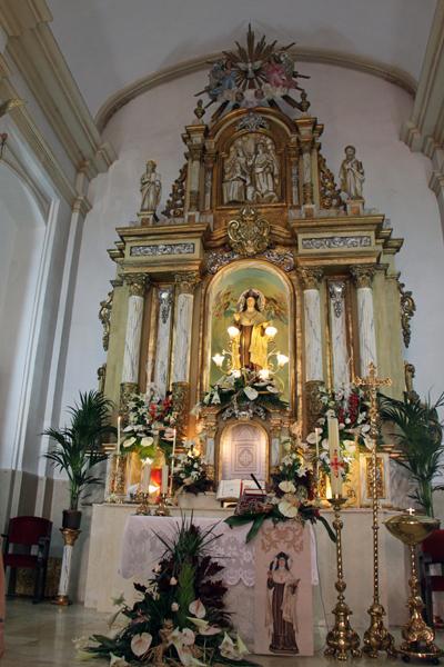 Altar Mayor Iglesia Santa Teresa