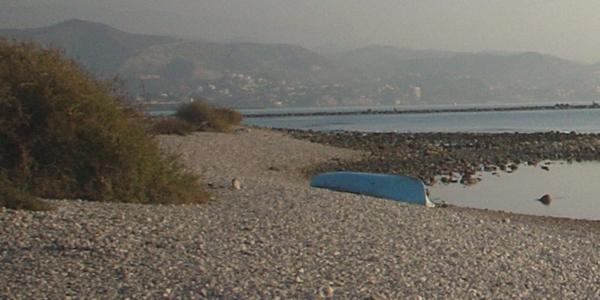 Playa Punta del Riu. Admite mascotas.