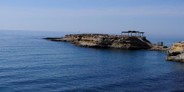 Vista desde la Playa de la Almadrava
